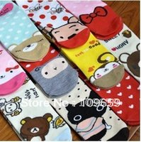 Wholesale pairs casual cotton socks cartoon women s socks CY