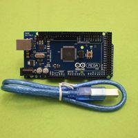 Wholesale Mega R3 Mega2560 REV3 ATmega2560 AU Board USB Cable compatible for arduino good quality low price
