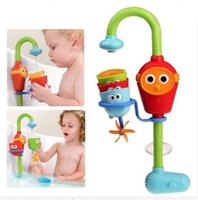 Wholesale Favorite Lovely Baby Bath Toys Play Taps Buttressed Music Spray Shower Baby Gifts baby bath toys water wheel