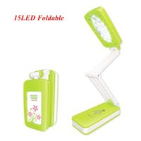 Wholesale 1pc New LED Reading Lamp LED Photo lamp LED Foldable Rotatable Degree Desk Lamp Table Light