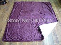 berber fleece fabric - Winter Thickening Double Layer Blanket Berber Fleece Blanket Diy Fabric Small Multi colors