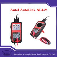 auto test smart - DHL Autel AL439 Auto Scanner Original OBD II Electrical Test AutoLink AL Diagnostic Engine Code Reader