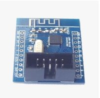 antenna download - 100pcs NRF24LE1 download board with built in antenna