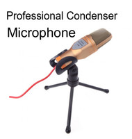 Wholesale Professional Condenser Mic Microphone Studio Recording Network wired mic of audio accessories parts Stand Holder set D715L