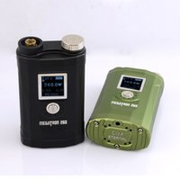 Wholesale Megatron w box mod Built in Three Battery Variant Wattage electronic cigarette vaporizer pen Via DHL