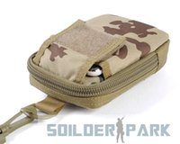Wholesale Military Tactical Molle CALDERAGEAR D Cellphone Camera Accessory Pouch Bag Waterproof Sports Camouflage bag order lt no tr