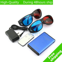 Wholesale High Quality Brand New D to D Converter HDMI with Glasses Remote Controller Home Theatre UPS DHL EMS CPAM