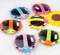 beatles babies - Kids sunglasses Cartoons Fold the beatles ladybird Baby children s glasses