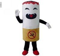 adult pimp costumes - Cigarette Tobacco Pimp Stick Mascot Costumes Character Costume Adult Size Suit Christmas fancy dress factory direct