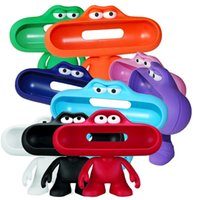 Wholesale Arrival Pill Speaker Stand Dude Doll Big Mouth Character Holder Stand Case for Portable Pill Speaker