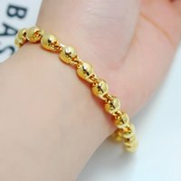 Wholesale Solid Gold Rosaries - Men and women can wear a rosary bead bracelet plated solid gold jewelry gold shop with money alluvial gold gift