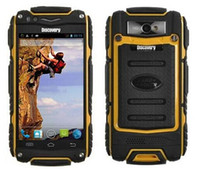 android 4.0 - Original Discovery V8 Waterproof Dustproof Shockproof Inch IPS Android Dual core Dual SIM GPS WIFI Smartphone
