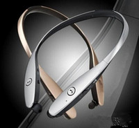 Wholesale Bluetooth Headset HBS900 HBS HBS Headphones In Ear Noise Cancelling LG L G Tone Infinim with CSR8645 chip lg neckband Earphones PAa