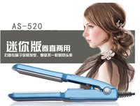 Wholesale Hair Straightener with Titanium Ceramic Flat Iron LED Display DW