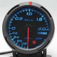 auto meter - 2 INCH MM Auto Defi Gauge Defi BF Gauge car meter TURBO BOOST Meter Blue and White Light