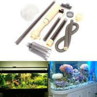 battery operated water pump - Operate Convenient Aquarium Battery Syphon Operated Auto Fish Tank Water Vacuum Gravel Filter Cleaner Pump Install order lt no track