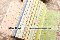 Wholesale WP007 Lovely Childish Patterns Decorative Gift Wrapping Paper Book Mixed Designs Festival Gift Packing Paper Kit sheets