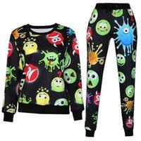 Cheap 2015 New Women Men Funny Dollars cartoon Monsters University emoji 3D Print Pullovers Hoodies Sweatshirts Harajuku Sweat Suit