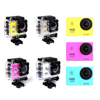 Wholesale Free DHL HD P Wifi Action Sport Camera SJ4000 M Waterproof Mini DV Video Recorder MP Inch LCD for Gopro