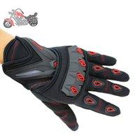Wholesale NEW motorcycle gloves Men Women Full Finger racing glove High Quality luvas para moto M L XL