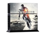 Cheap NEW 1Set Battle Field 4 Vinyl Decal Skin Sticker For PS4 Console PVC Sticker for Playstation 4 PS4 Controller Games