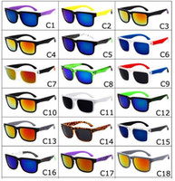 Wholesale hot Brand Designer Spied Ken Block Helm Sunglasses Multicolour Coating Lens Men Oculos De Sol Sun Glasses Colors