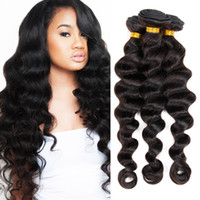 black friday - 8A Unprocessed Virgin Hair Brazilian Loose Wave Hair Weave quot quot Mix Length Human Hair Weave Brazilian Hair Bundles Black Friday Sales