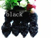 Wholesale 20pcs8 cm heart diet chiffon bows flower diy manual clothing shoes and hats Ribbon ribbon cloth art hair accessories