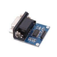 Wholesale MAX3232 RS232 to TTL Serial Port Converter Module DB9 Connector with Cable