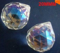 Wholesale 50pcs mm ab color crystal prism pandent ball for wedding amp ball chandelier pendant ball slippers