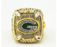 bay rings - Solild Fashion Rhodium Plating Ring Green Bay Packer Championship Ring