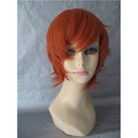 Cheap Attractive Fashion Short Wig Around Baby Hair Cheap Synthetic Wig Cosplay Wig 3 Size Cap 005