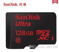 Cheap 2016 100% Micro SD Card 128GB 1 Micro SD Class 10 SD Card TF Memory Card TF card Pen drive Flash + Adapter