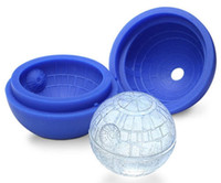Wholesale Hot sell Star Wars Death Star Silicone D Ice Cube Food Mould Tray