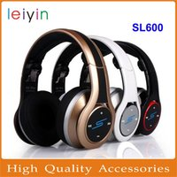 headphone pro - SMS Audio By Cent SL600 Bluetooth Headphones SMS Audio DJ Pro Wireless STREET HiFi Headsets Gold Black White Headphone