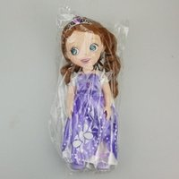 Wholesale DHL inch cm Sofia princess doll toy Sofia princess sofia toys Christmas gift pvc doll toy Action Figure Collection Model