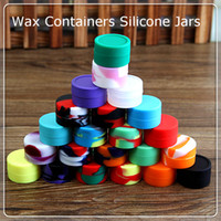 big deals - BIG DEAL Silicone Container Wax Jars silicone wax box for wax silicone jars dabber tool kit DHL FREE