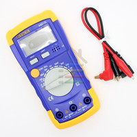 Wholesale New Digital LCD Capacitance Capacitor LCR Meter Test Tester Multimeter mF pF mF