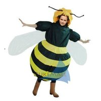 Wholesale Inflatable Bee Costume Halloween mascot Party Costume Animal Costume for Adults