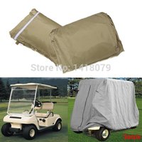 Wholesale High Quality Taupe Passenger Golf Cart For Yamaha Cover Protect Against Rain Sun