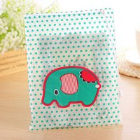 beam compression - Cartoon Polka Dot Waterproof Clothing Pouch Bag Travel Pouch Beam Port Finishing Bags Of Clothes BG