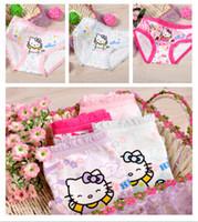 Briefs girls underwear - 12pcs Baby Girls Fashion Underwear Kids Cute Cartoon Panties Children Soft Cotton and retail