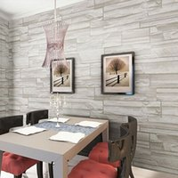 art deco wall colors - Contemporary Wallpaper Art Deco Fashion Wallpaper four colors Brick Grain PVC Wall Covering