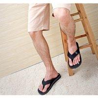 Wholesale New Hot Sale Summer Spring Men Casual Non slip Flip Flops Male Boys Sport Beach Slippers Wearproof Flat Shoes Size