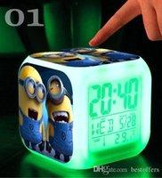 2,015 New Hot réveil avec chiffres jeu de jouets LED sbires Jouets électroniques Mon voisin Totoro livraison gratuite