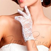 Wholesale Short Lace Gloves Summer UV Protection cmMix Color prs B3