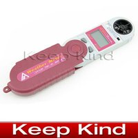 barometric pressure meter - AZ8910 Foldable Mini Wind speed Meter in digital anemometer Wind speed temperature humidity Barometric pressure Altitude