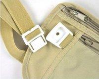 Wholesale New Travel Sport Pouch Bag Hidden Compact Security Money Waist Belt Holder Pocket