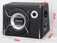 car active subwoofer - 1pc inches high heavy bass automobile active subwoofer car high power subwoofer