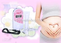 Wholesale 2 MHz Fetal Doppler Fetal Heart Monitor with LCD display Gel